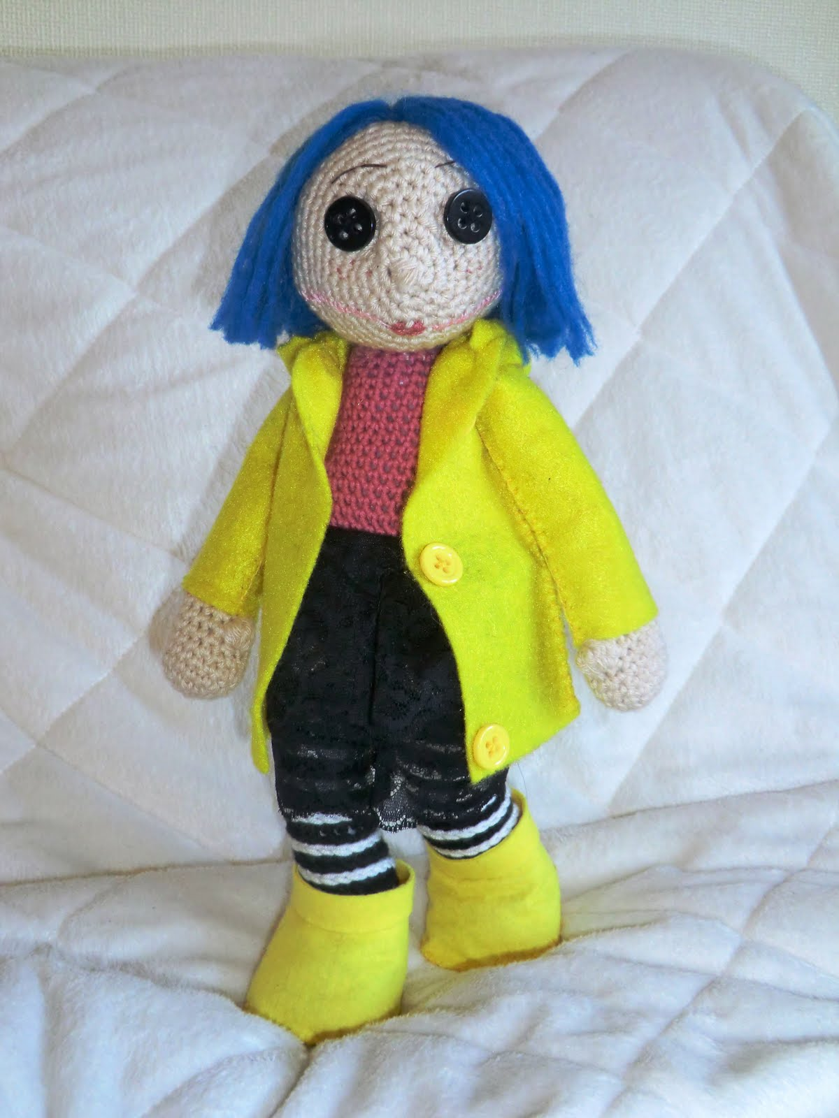 CORALINE Amigurumi Pattern Crochet Doll Pattern Photo | Etsy | 1600x1200