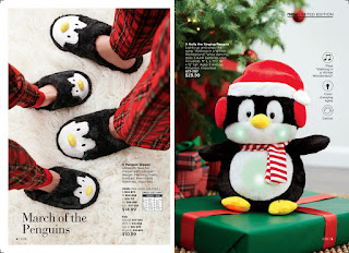 avon catalog 25 penguin slippers