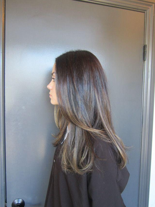 Shades Of Dark Ash Colored Hair