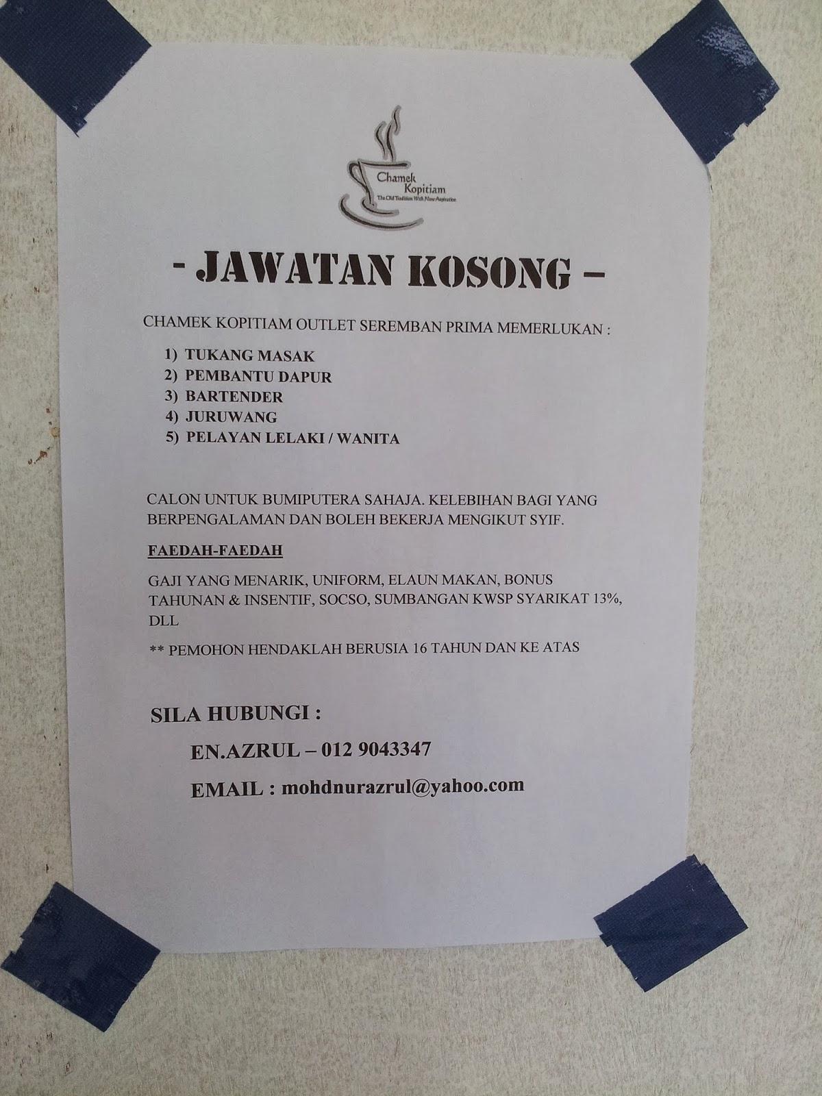 Sila Hubungi En Azrul 012 9043347