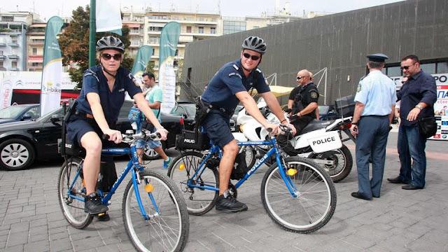 Θεσπρωτία: Αστυνομικοί με ποδήλατα χρειάζονται και στην τουριστική περιοχή του δήμου Ηγουμενίτσας...