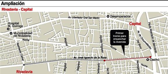 Hoy se hizo el llamado a licitación del primer tramo pero la calzada desde San Miguel hasta Rastreador Calivar sufrirá mejoras antes de que comience el trabajo principal. La vuelta ciclística toma en uno de sus recorridos parte de la avenida.
