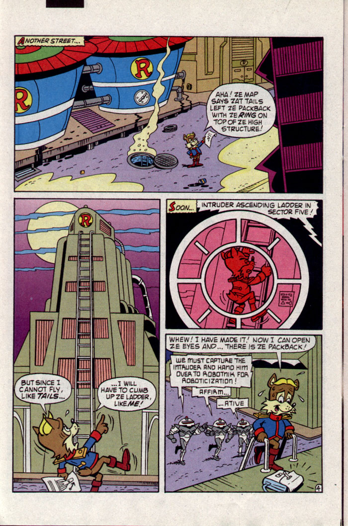 Read online Sonic The Hedgehog comic -  Issue #23 - 23