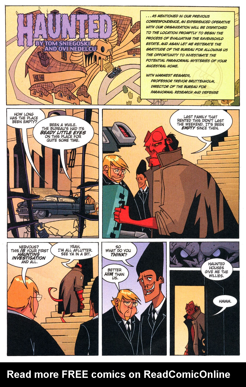 Read online Hellboy: Weird Tales comic -  Issue #4 - 22