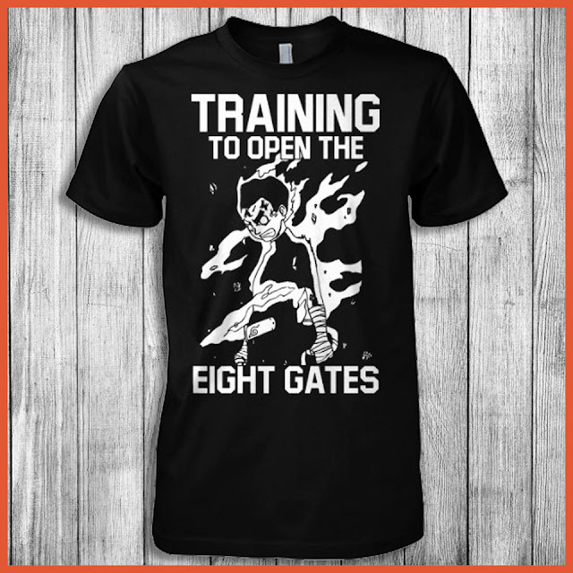 Training To Open The Eight Gates (Naruto) Shirt