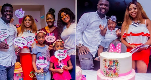 Comedian Seyi Law throws colorful party to mark his daughter first birthday (photos) | Welcome To Dammy Martins's Blog