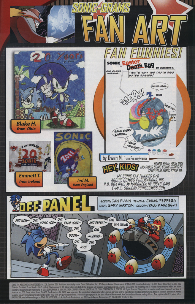Read online Sonic The Hedgehog comic -  Issue #228 - 33