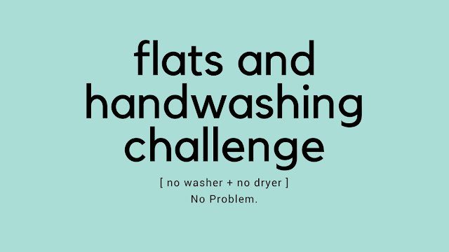 Flats and Handwashing Challenge Cloth Diaper Revival