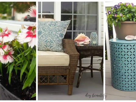 Update Patio Decor for Spring