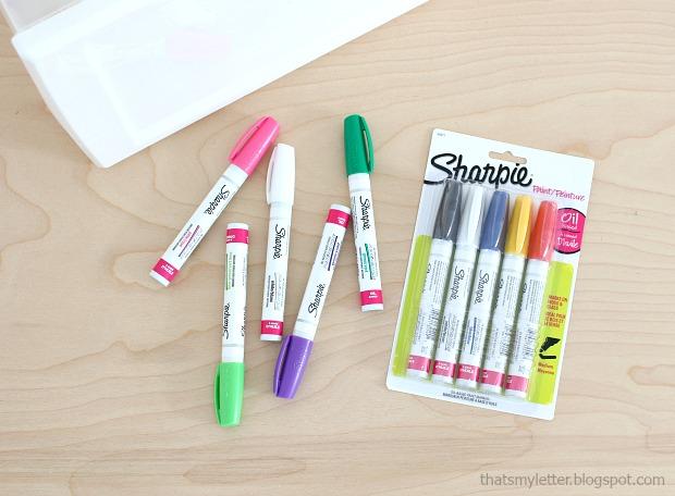 Sharpie paint markers