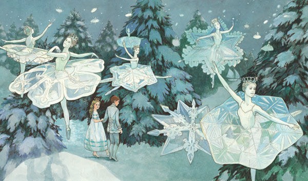 Cute Cartoon Flower Wallpaper Magical Vintage Children S Books The Nutcracker By E T A