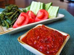 Resep Sambal Terasi Tomat Khas Emak Pedas Dan Nikmat