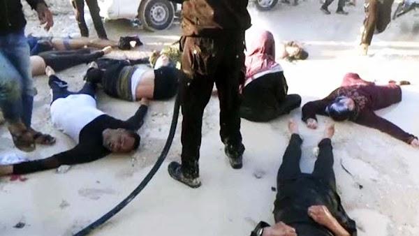 """""""presunto"""" ataque químico en Siria deja decenas de muertos"""