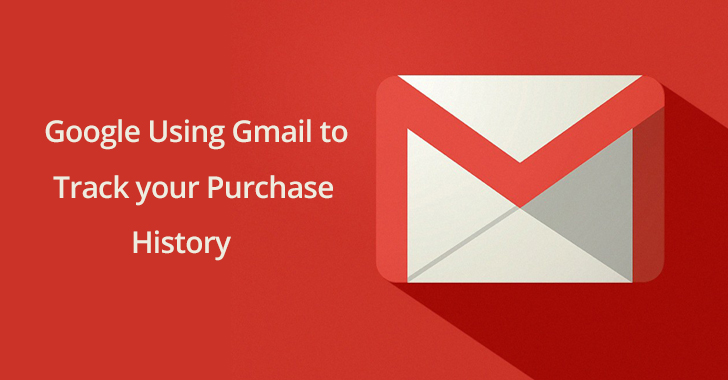 c51f30fd76a Gmail. Google tracks every single purchase that you have made online in  years if you have the receipts ...