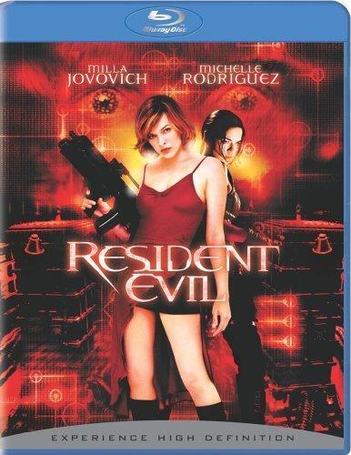 Poster Of Resident Evil 2002 720p Hindi BRRip Dual Audio