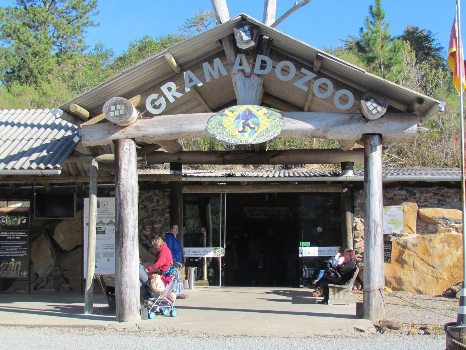 Entrada Zoo de Gramado