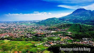 Pemandangan Indah Kota Malang