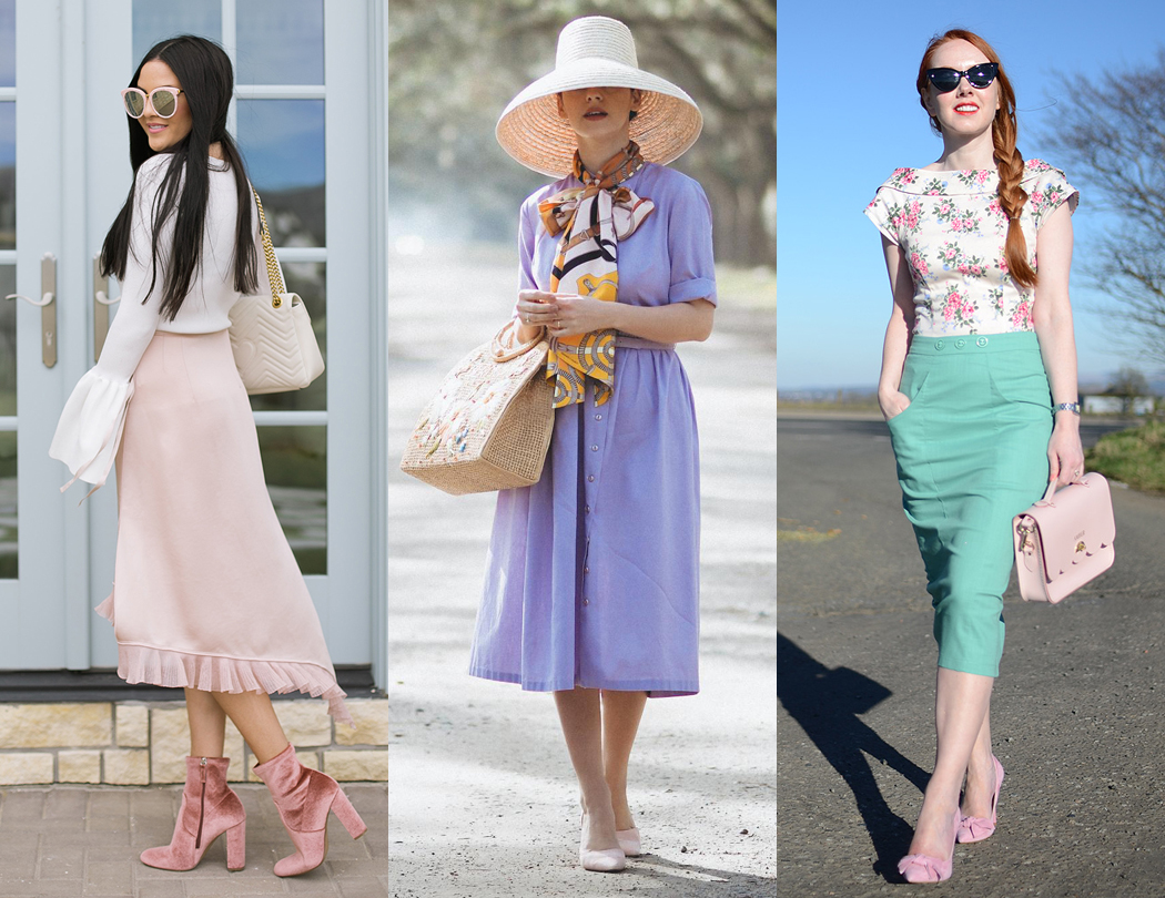 10 Romantic, Feminine Style Fashion Bloggers compiled by Not Dressed As Lamb