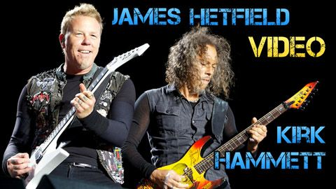 Vídeo Biografía de Metallica - James Hetfield y Kirk Hammett