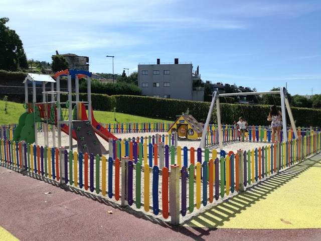Parque Infantil de Casares em Arcos de Valdevez