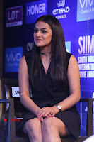 Actress Shraddha Srinath Stills in Black Short Dress at SIIMA Short Film Awards 2017 .COM 0043.JPG