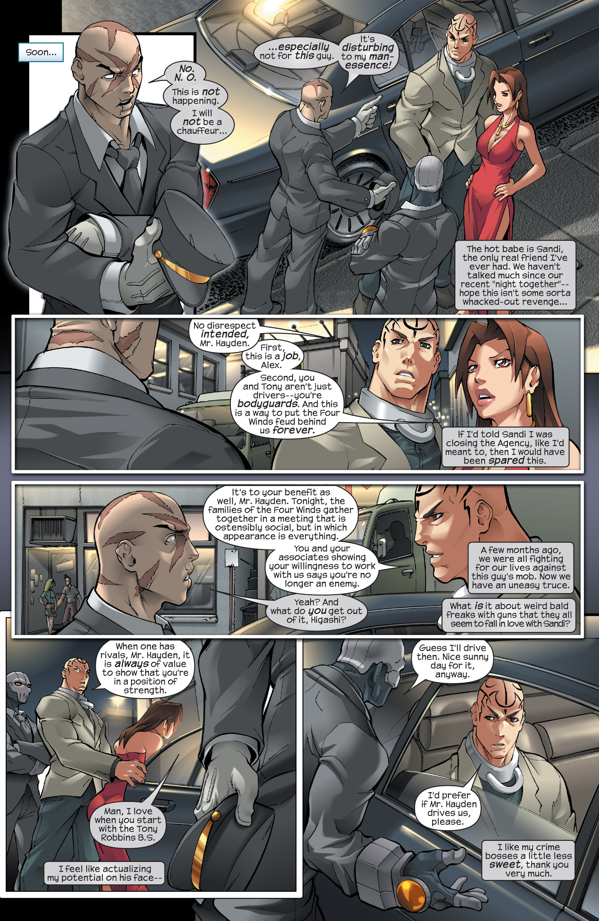 Read online Agent X comic -  Issue #13 - 10