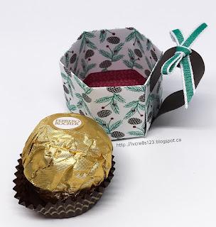 Linda Vich Creates: Christmas Tag Exchange 2016. Mini Mug treat holders perfect for holding a Ferrero Rocher chocolate.