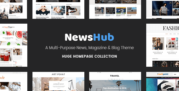 Newshub v1.1 – A News, Magazine & Blog WordPress Theme