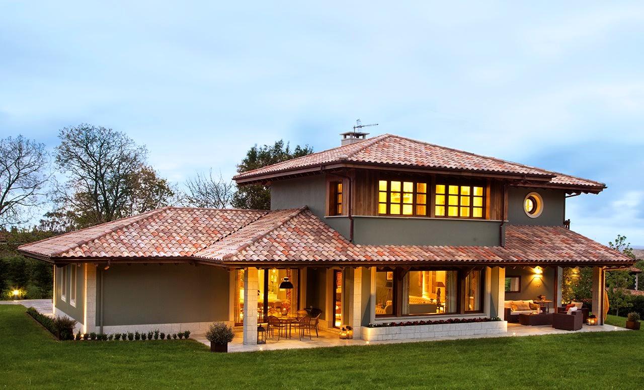 Decora o a casa verde jeito de casa blog de for Fachada de casas modernas con tejas