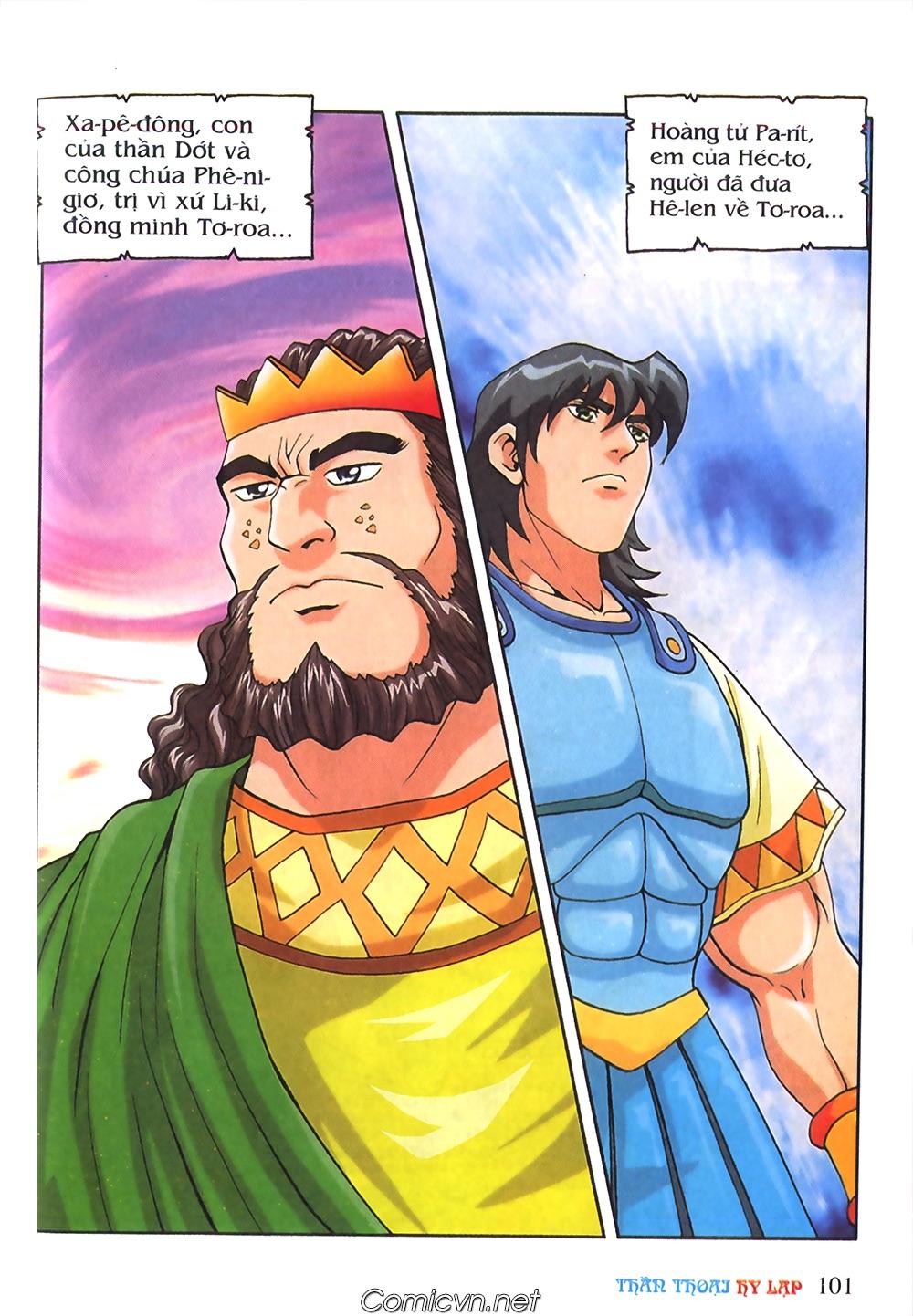 Thần Thoại Hy Lạp Màu - Chapter 55: Trận chiến đầu tiên - Pic 5