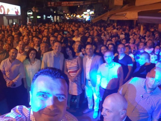 Ζάεφ: Πανηγύρια και φιέστες για την «επιτυχία της Μακεδονίας»