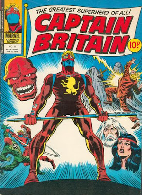 Marvel UK, Captain Britain #27, the Red Skull