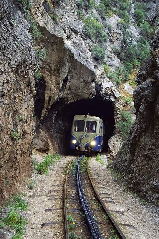 Cog train Kalavryta
