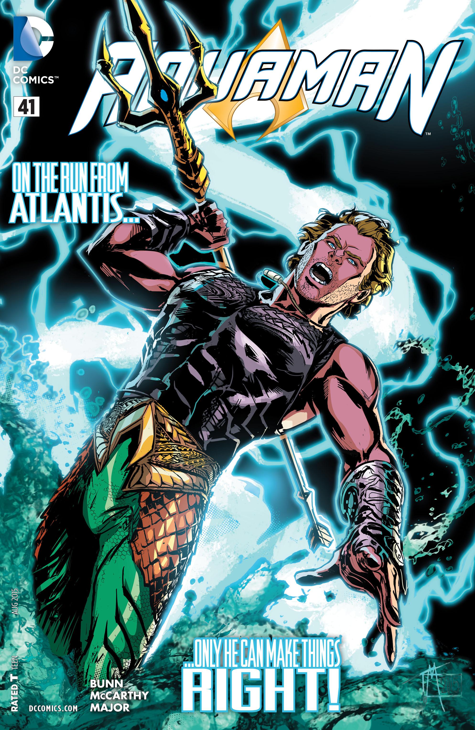 Read online Aquaman (2011) comic -  Issue #41 - 1