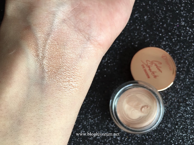 flormar color stretch eye shadow 03 early bronze swatch