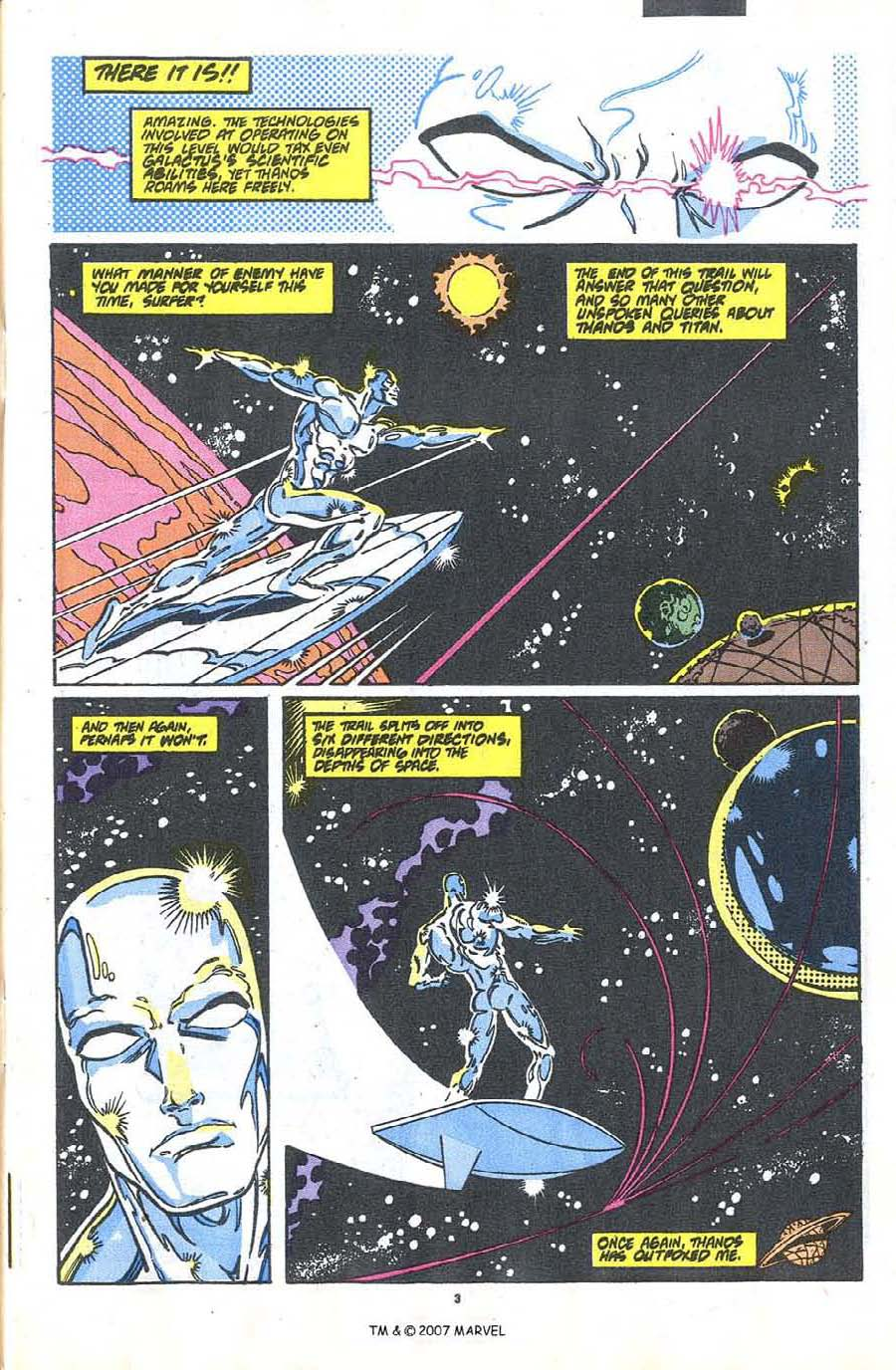Read online Silver Surfer (1987) comic -  Issue #37 - 5