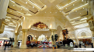 ibn battuta mall india court images