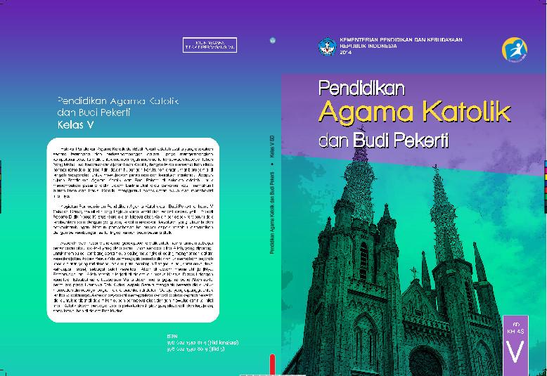 Download Gratis Buku Siswa Pendidikan Agama Katolik dan Budi Pekerti Kelas 5 SD Kurikulum 2013 Format PDF