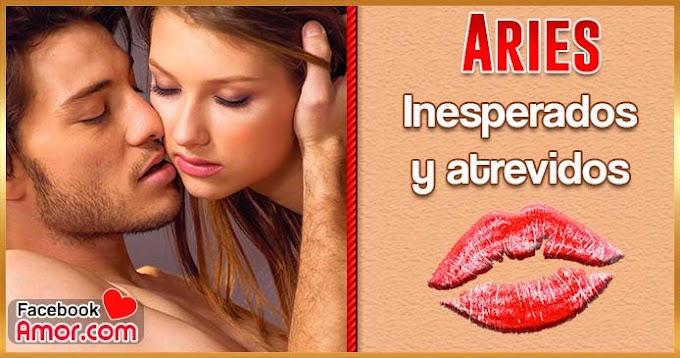 Como besa un Aries