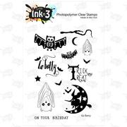 IO3 Go Batty 4x6 Clear Stamp Set