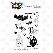IO3 Go Batty 4x6 Clear Stamp Set