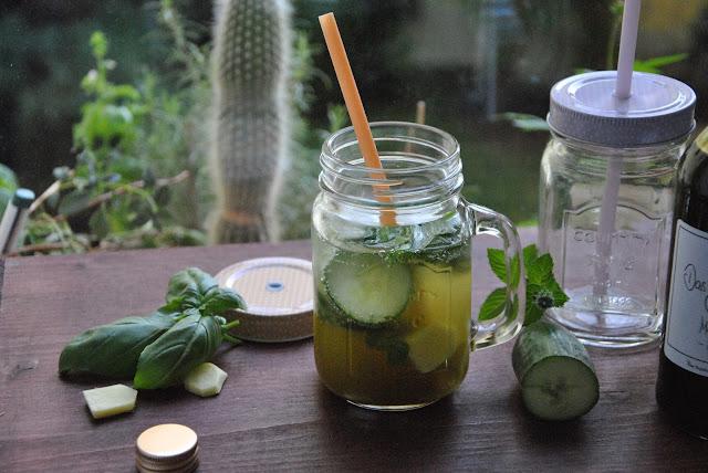 Echt erfrischend: Ein Drink mit Matcha Sirup