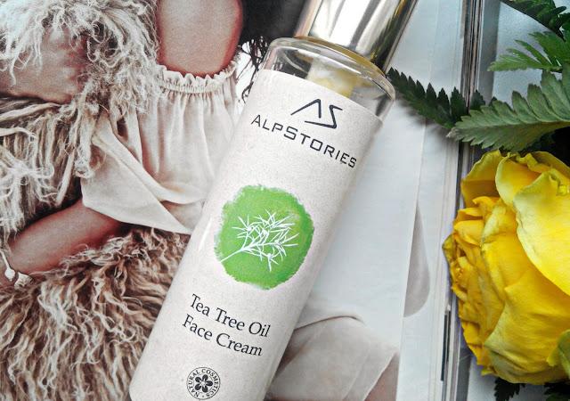 Крем для лица с маслом чайного дерева AlpStories