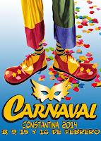 Carnaval de Constantina 2014 - Payaso preparado para la función - Daniel Murillo Murillo
