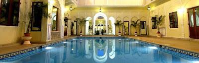 4. Maharajah Pavilion, Raj Palace, Jaipur, India, $ 44,000 Per Malam