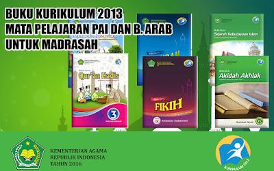 Kumpulan Buku Mata Pelajaran PAI dan Bahasa Arab kelas 1, 2, 3, 4, 5, 6