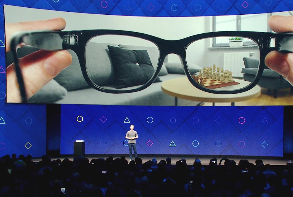 A new patent unveils more information about Facebook's AR glasses