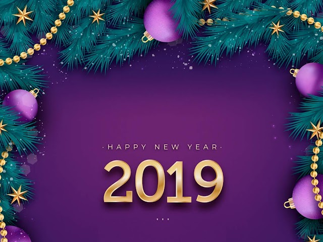 Happy New Year 2019 Wallpaeprs, Wishes Images 2019 HD Download