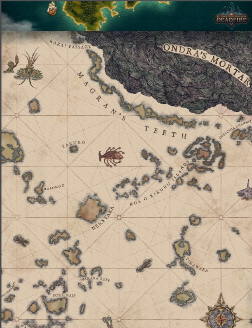 Pillars Of Eternity World Map Complete.Review Pillars Of Eternity Ii Deadfire The Epitome Of Pause