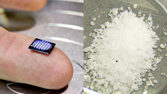 IBM creates 'world's smallest computer' that's smaller than a grain of salt